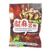 Broad Bean Snack (Spicy) (六福椒麻蠶豆)
