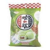 Marshmallow Daifuku Mochi Rice Cakes (Matcha Red Bean) (皇族抹茶紅豆棉大福)