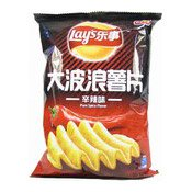 Ruffled Potato Chips (Crisps Pure Spicy Flavour) (樂事薯片(辛辣味))