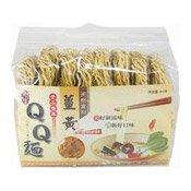 QQ Noodles (Turmeric) (薑黃QQ麵)