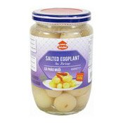 Salted Eggplant In Brine (Ca Phao Muoi) (鹽辣茄子)
