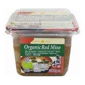 Organic Red Miso Paste (有機赤味噌)