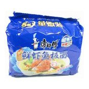Instant Noodles Multipack (Artificial Fish Flavour) (康師傅鮮蝦魚板麵)