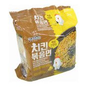 Instant Noodles Multipack Stir Fried Chicken (Spicy Soy) (韓國醬油炒麵)