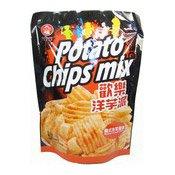 Potato Chips Mix (Korean Kimchi Flavour Crisps) (九褔泡菜薯片)