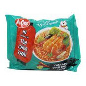 Instant Noodles (Thai Sour Shrimp Tom Yum) (味王冬陰麵)
