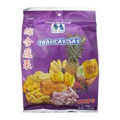 Mixed Fruit Chips (Trai Cay Say) (综合蔬果)