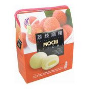 Mochi Glutinous Rice Cakes (Litchi Lychee) (荔枝麻糬禮盒)