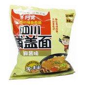 Instant Sichuan Broad Noodles (Sesame Paste) (阿寬鋪蓋麵 (麻醬))
