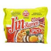 Jin Ramen Instant Noodles (Spicy) (真拉麵 (辣味))
