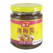 Plum Sauce (海天冰梅醬)