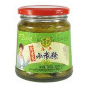 Pickled Green Chillies (丹丹小米椒)