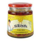 Chopped Chilli With Garlic (丹丹蒜莔剁椒醬)