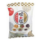 Marshmallow Daifuku Mixed Mochi (Peanut, Matcha Red Bean, Sesame) (皇族日式和風大福)