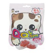 QQ Cat Paw Gummies (Strawberry) (旺旺貓爪軟糖 (草莓))