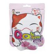 QQ Cat Paw Gummies (Grape) (旺旺貓爪軟糖 (葡萄))