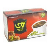G7 Instant Coffee (15 Packets) (三合一即溶咖啡)