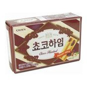 Choco Heim Choco Cream Wafers With Hazelnuts (朱古力味餅)