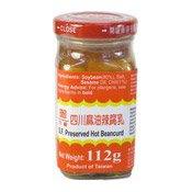 Preserved Hot Beancurd (Furu) (六福四川麻油辣腐乳)