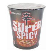 Shin Red Cup Noodles (Super Hot & Spicy) (農心超辣辛拉麵)