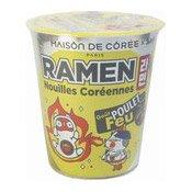Cup Ramen Noodles (Crazy Chicken Flavour) (韓國杯麵 (辣雞))