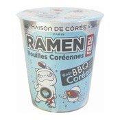 Cup Ramen Noodles (BBQ Barbecue) (韓國杯麵 (燒烤))