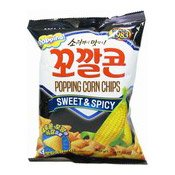 Popping Corn Chips (Sweet & Spicy) (樂天燒烤玉米)