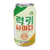 Lucky Cider Soft Drink (韓國西打汽水)