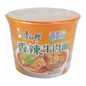 Instant Bowl Noodles (Spicy Artificial Beef Flavour) (康師傅香辣牛肉麵)