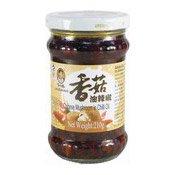Chinese Mushrooms in Chilli Oil (老乾媽香菇油辣椒)