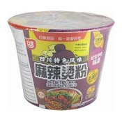 Instant Bowl Vermicelli Noodles (Hot & Spicy Flavour) (白家麻辣燙粉絲碗)