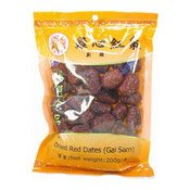 Dried Red Dates (Gai Sam) (金百合雞心棗)