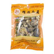 Dried Chinese Shiitake Mushrooms (金百合精選冬菇)