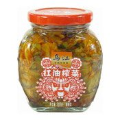 Spicy Mustard Tuber (烏江紅油榨菜)