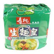 Instant Noodles King Multipack (Seafood Soup Flavour) (壽桃生麵王 (XO瑤柱))