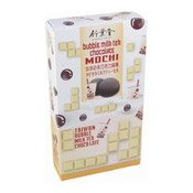 Bubble Milk Tea Chocolate Mochi Rice Cake (珍珠奶茶巧克力麻薯)