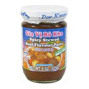Spicy Stewed Beef Flavour Paste (Gia Vi Bo Kho) (珀寬越式辣牛肉調味醬)