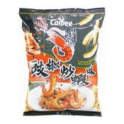Prawn Crackers (Fried Shrimp With Black Bean Sauce) (卡樂B蝦條 (豉椒))