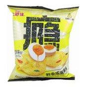 Salted Egg Yolk flavour Potato Chips (Crisps) (上好佳咸蛋黃薯片)