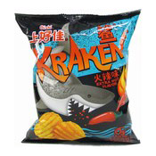 Kraken Potato Chips (Extra Hot Flavour) (上好佳火辣薯片)