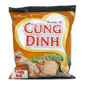 Cung Dinh Instant Noodles (Crab With Laksa) (即食麵 (叻沙蟹味))