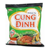 Cung Dinh Instant Noodles (Hot & Sour Prawn Hot Pot) (即食麵 (泰式火鍋))