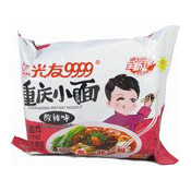 Chongqing Instant Noodles (Non-Fried, Sour Hot) (光友重慶酸辣麵)
