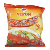 Instant Noodles (Asian Style Hot & Sour Shrimp Flavour Tom Chua Cay) (泰式酸辣麵)