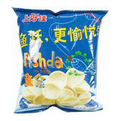 Fishda Fish Kropeck Snack (上好佳魚餘小食)