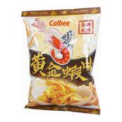 Prawn Crackers (Shrimps With Salted Egg Yolk) (卡樂B蝦條 (黃金蝦))