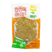 Dried Soybean Curd (Pickled Wild Pepper Flavour Dougan) (香香咀豆乾 (山椒))