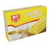Coconut Wafer Rolls (春光椰香酥卷)