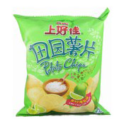 Potato Chips (Lime & Sea Salt Flavour Crisps) (上好佳青檸海鹽薯片)