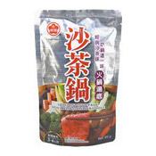 Satay Hot Pot Soup Base (牛頭牌沙茶鍋湯底)
